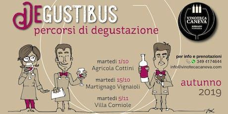 DeGustibus - Percorsi di degustazione: Villa Corniole biglietti