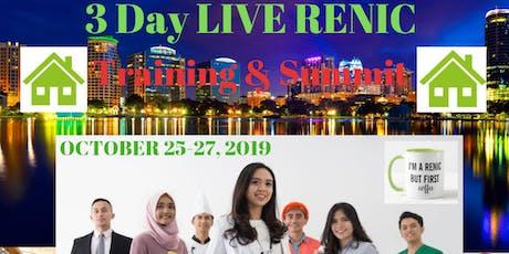 Orlando RENIC Live 3 Day Training  & Summit tickets