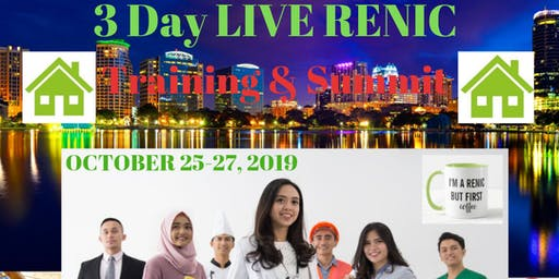 Orlando RENIC Live 3 Day Training  & Summit