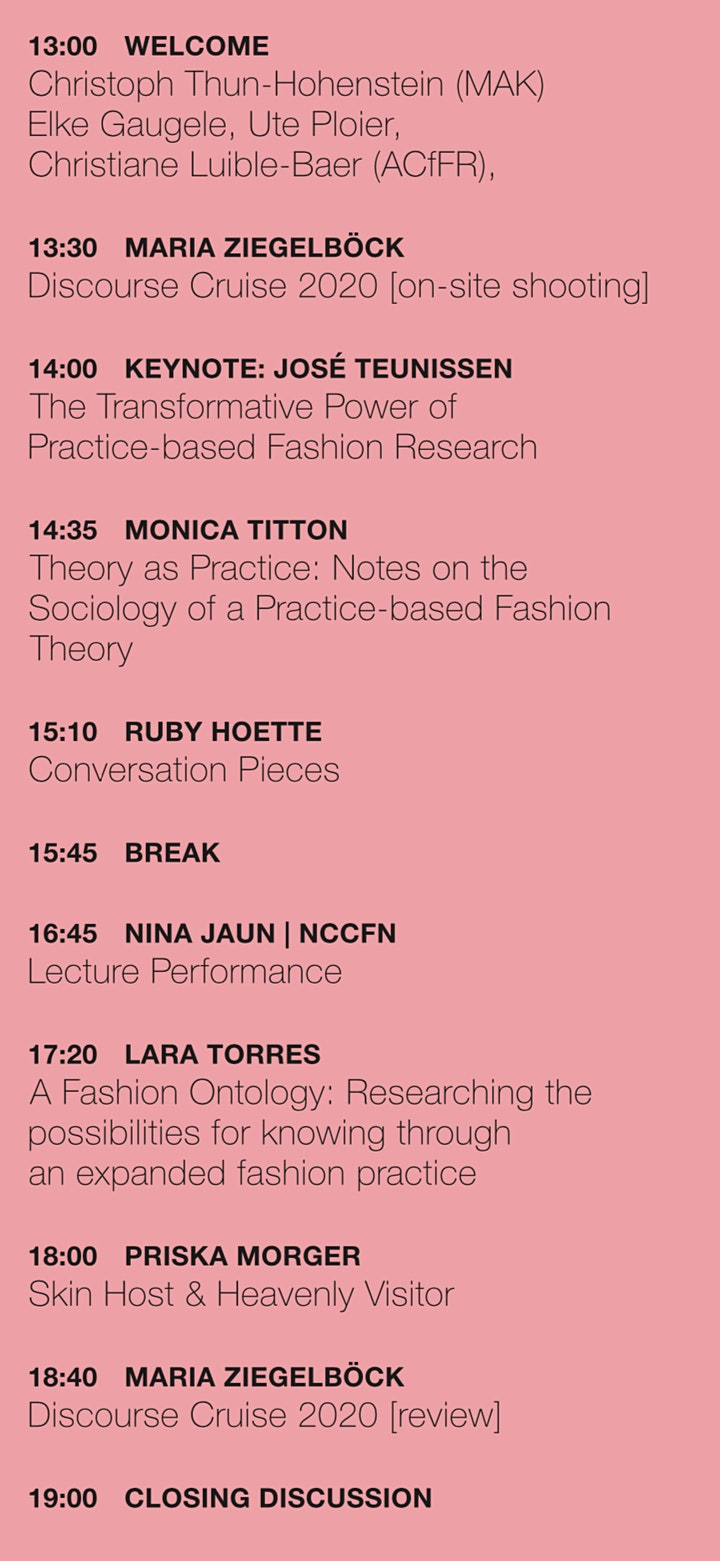 Symposium: Talkshow. The Politics of Practice-Based Fashion Research image