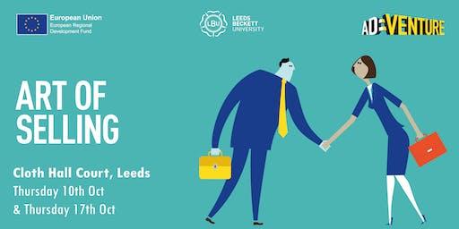 AD:VENTURE Masterclass: The Art of Selling (Leeds)