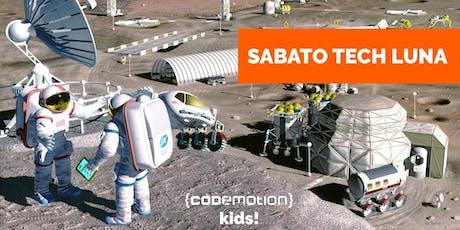 Sabato Tech LUNA (8 - 10 anni) - Codemotion Kids! Roma biglietti