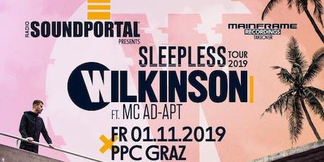WILKINSON & MC AD-APT (RAM Rec.) - Sleepless Tour 2019 Tickets
