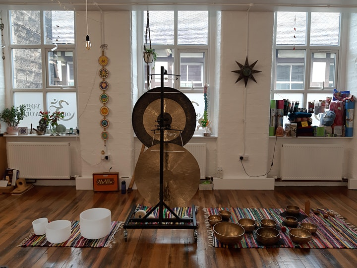 Gong Relaxation Sound Bath - Om Yoga Works, Farsley, Leeds. image