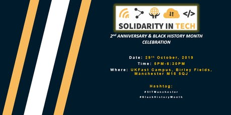 Black History Month & Solidarity In Tech's 2nd-Year Anniversary Celebration tickets