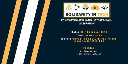Black History Month & Solidarity In Tech's 2nd-Year Anniversary Celebration