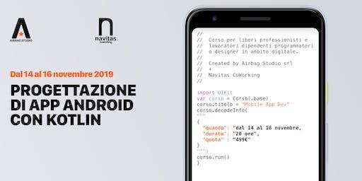 Progettazione di App Android con Kotlin