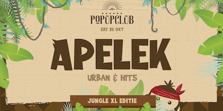 Apelek in de Popupclub   Jungle XL tickets