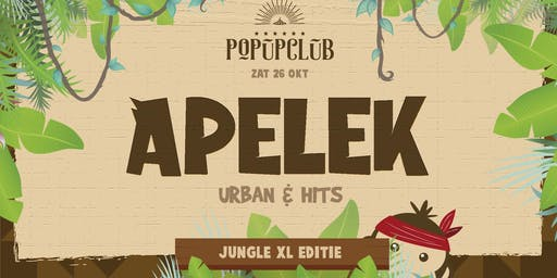 Apelek in de Popupclub | Jungle XL