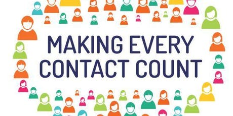 Making Every Contact Count (Lincoln, afternoons, 26 Nov & 6 Dec) tickets