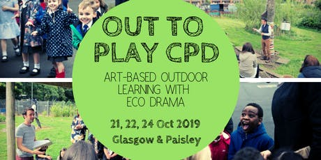 Out to Play outdoor learning CPD session - 21st October 2019 tickets
