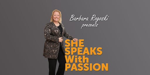 "Workshop ""She speaks with passion"" by Barbara Rogoski 