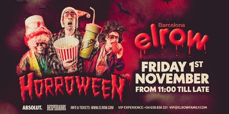 elrow Barcelona - Horroween entradas