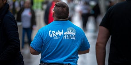 Grow Festival 2020 Volunteer Briefing and Training tickets
