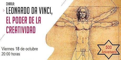 Charla gratuita: Leonardo da Vinci, el poder de la creatividad entradas