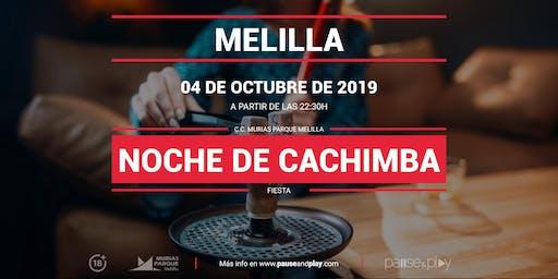 Noche de cachimba en Pause&Play Parque Melilla