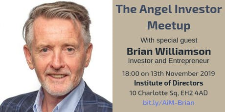 Angel Investor Meetup with Brian Williamson tickets
