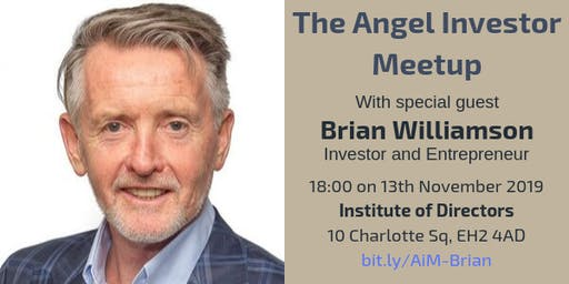 Angel Investor Meetup with Brian Williamson