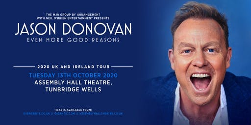 Jason Donovan 'Even More Good Reasons' (Assembly Hall, Tunbridge Wells)