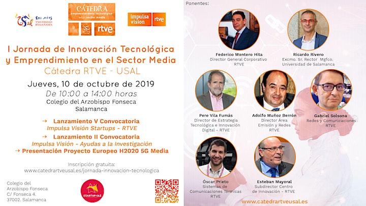 Imagen de I Jornada de Innovación Tecnológica y Emprendimiento en el Sector Media