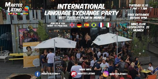 Martes Latino: FREE language exchange and party with native speakers in Mun