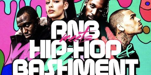 RnB Meets Hip-Hop & Bashment Party