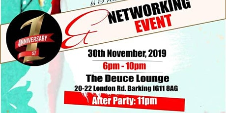 BLACK FEMALE ENTREPRENEUR GREENWICH  NETWORKING EVENT AND AFTER PARTY tickets