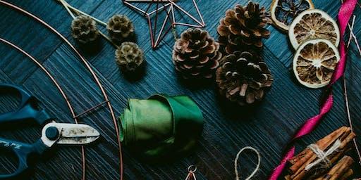 Contemporary Christmas Wreath Workshop