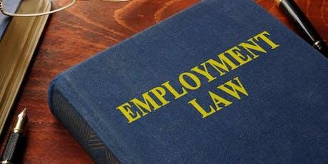 CBR Business Solutions Employment Law Breakfast Seminar tickets