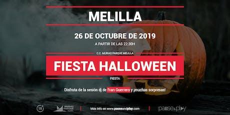 Fiesta Halloween con Fran Guerrero en Pause&Play Parque Melilla entradas