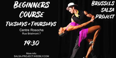 Salsa Beginners Course / Cours Débutants Salsa tickets