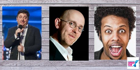 Laughing Bishops Comedy Club 26th Oct with Nick Page, Silky, Prince Abdi tickets
