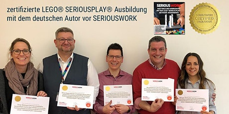 zertifizierte Ausbildung zum LEGO Serious Play Facilitator von SERIOUSWORK Tickets