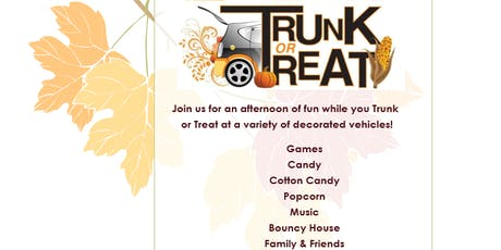 Trunk or Treat Presented by Calvary Temple Pentecostal Social Circle, GA tickets