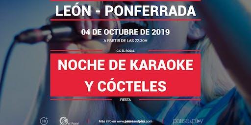 Noche de karaoke y cócteles en Pause&Play El Rosal