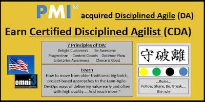 CXP-Certified Disciplined Agilist-(CDA) eXam-Prep [CXP] - DA agile- St Louis, MO