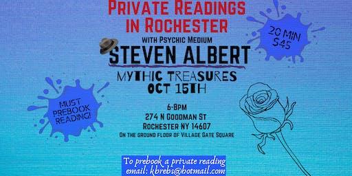 Steve Albert: Private Readings 10/15 Mythic