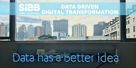 Data Driven Digital Transformation Tickets