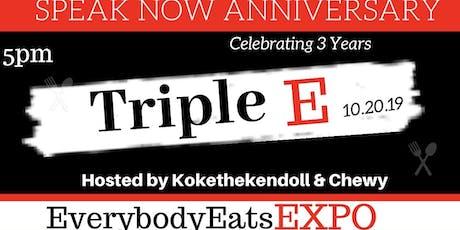 Tripe E: Everybody Eats Expo tickets
