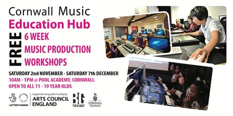 Cornwall Music Education Hub - Music Production Workshops tickets