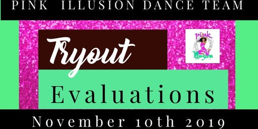 Pink Illusion Dance Team Registration