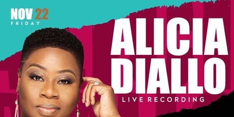 """Alicia Diallo: Live Recording  """"The Sound of Deliverance"""" tickets"""