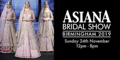 Asiana Bridal Show Birmingham - 24th November 2019