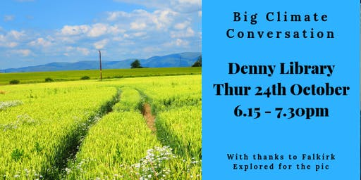 Big Climate Conversation - Denny Library