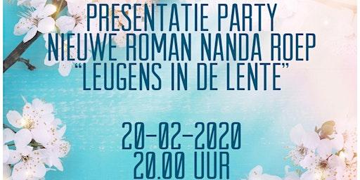 Presentatie party roman Nanda Roep