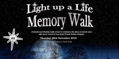 Light Up a Life Memory Walk tickets