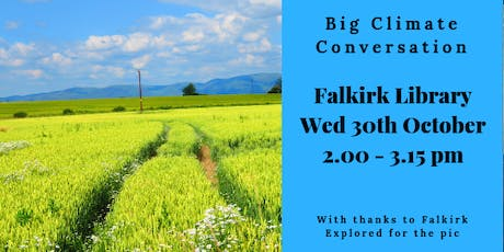 Big Climate Conversation - Falkirk Library tickets