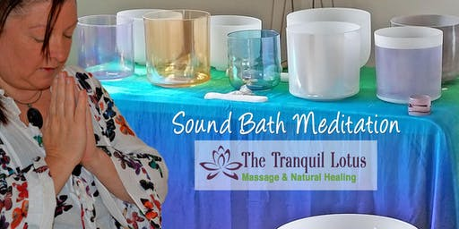 Sound Bath Meditation - MORWELL with Jenniffer Button