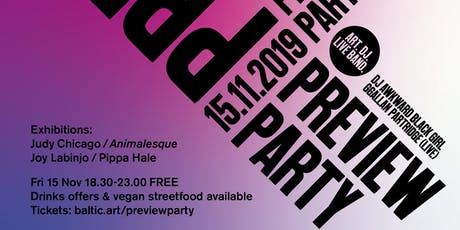 BALTIC Preview Party: Autumn/Winter 19  tickets