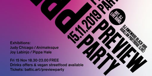 BALTIC Preview Party: Autumn/Winter 19